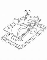 Coloring Table Coffee Pages Modern Furniture Printable Drawing Adult Getcoloringpages Popular Books sketch template