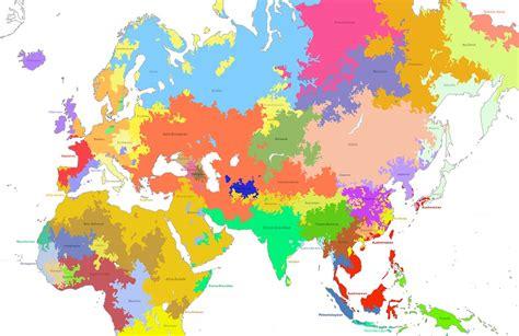 linguistic map    world bce language