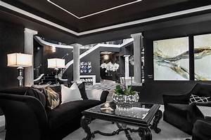20 Inspiring Black and White Living Room Designs ...