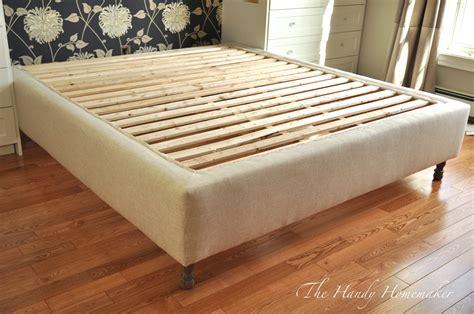 cheap corner sofa beds upholstered bed frame diy part 1 the handy homemaker