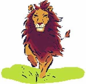 Running Lion Animated GIF #856 - Animate It!