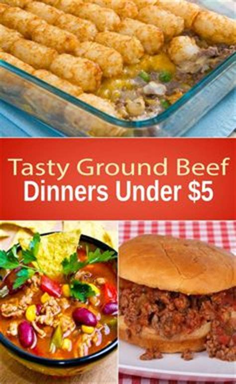 ground dinners family of 5 groceries budget and the menu on pinterest