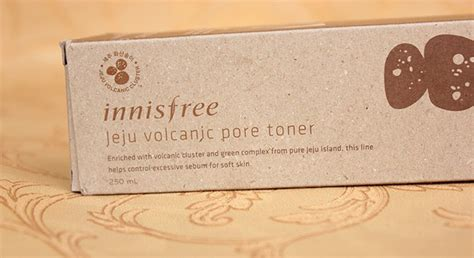Harga Innisfree Jeju Volcanic Pore Toner innisfree jeju volcanic pore toner review