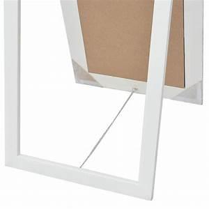 Miroir Sur Pied Blanc : acheter vidaxl miroir sur pied style baroque 160 x 40 cm blanc pas cher ~ Teatrodelosmanantiales.com Idées de Décoration