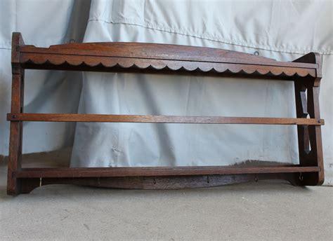 bargain johns antiques blog archive antique wall mount mission oak plate rack shelf arts