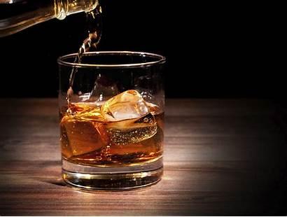 Whisky Glass Highball Whiskey Ice Bebidas Closeup