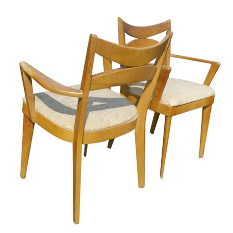 heywood wakefield dining set ebay heywood wakefield dining table 4 side chairs set ebay