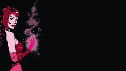 Witch Scarlet Wallpapers Desktop Marvel Background Backgrounds