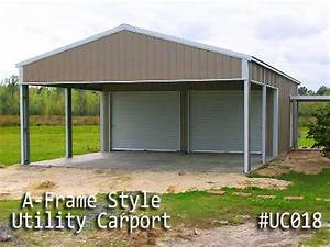Garage Carport Kombination : metal utility carports are like a carport and a shed in one ~ Sanjose-hotels-ca.com Haus und Dekorationen