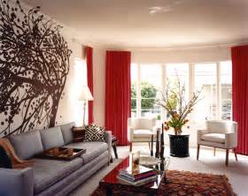 red and brown living room design myideasbedroom com