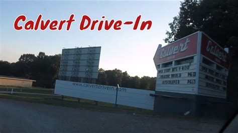 Maybe you would like to learn more about one of these? Calvert Drive-In Theater - YouTube