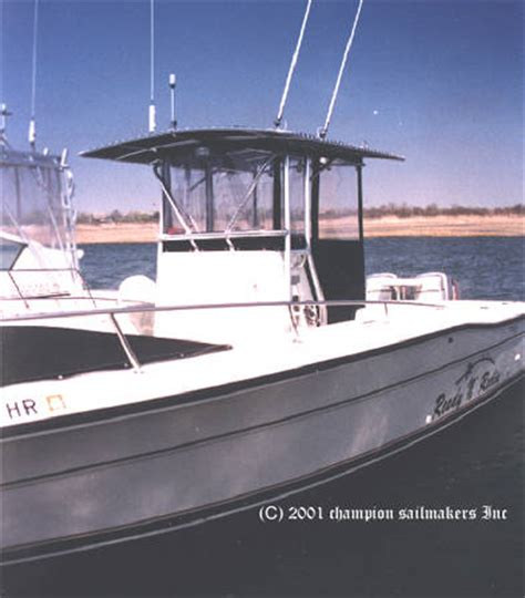 Boat T Top Window by Console Box Enclosure