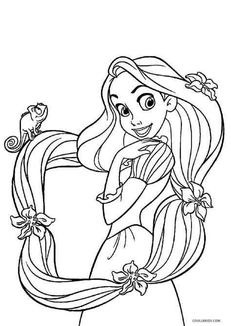 coloring page free printable tangled coloring pages for cool2bkids