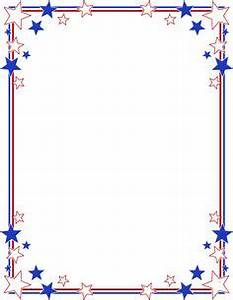 Stripes Page Border | Stars and Stripes Page Borders ...