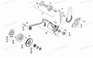 Arctic Cat Atv 2011 Oem Parts Diagram For Starter Motor