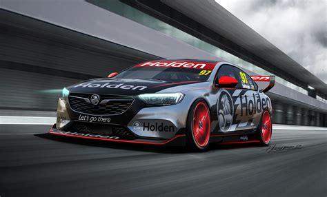 Holden Car : 2018 Holden Commodore Racer Revealed For Australian