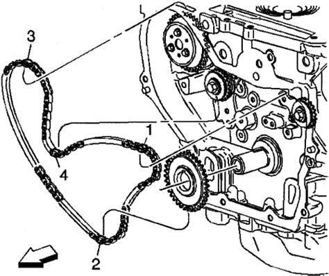 cobalt timing chain replacement timing chain alignment