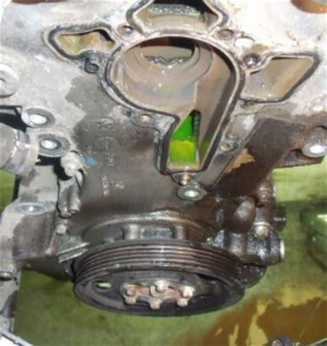 depose de la pompe  eau opel combo diesel auto