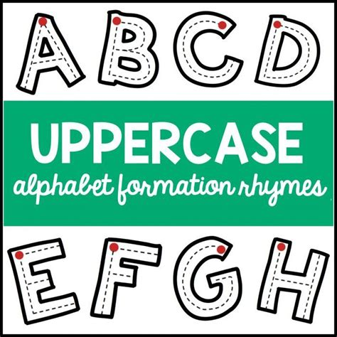 uppercase alphabet ideas  pinterest