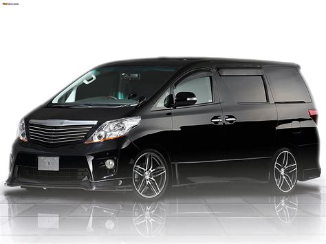 Toyota Alphard Wallpapers by Tommykaira Toyota Alphard 2009 Wallpapers 2048x1536