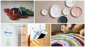 Home Interior Materials 10 Clever Diy Home Decor Crafts With Actual Waste Materials