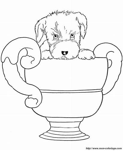 Coloring Pages Dog Puppy Winner Printable Shooting