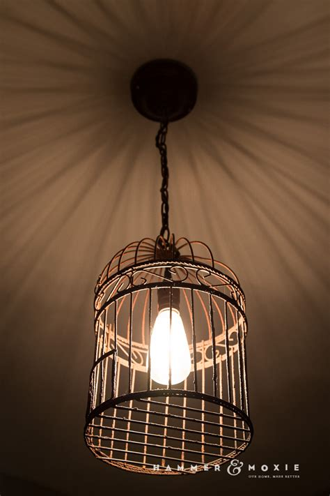 bird cage pendant light baby exit