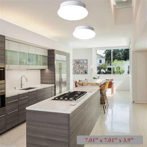 led flush mount ceiling light  kitchen