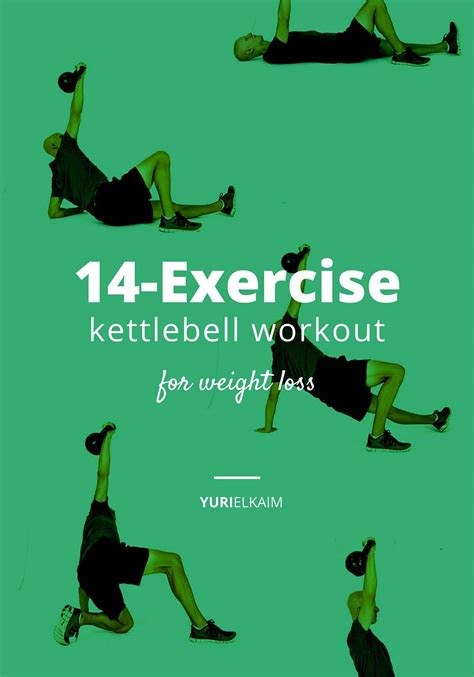 kettlebell workout exercises weight loss printable body exercise routine beginners plus