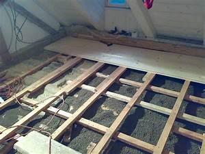 Stavba podlahy v podkroví