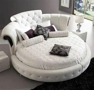 Lit Rond But : choisissez un lit en cuir pour bien meubler la chambre coucher ~ Teatrodelosmanantiales.com Idées de Décoration