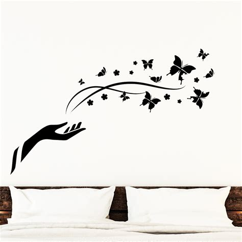 stickers muraux animaux sticker papillons de la liberte