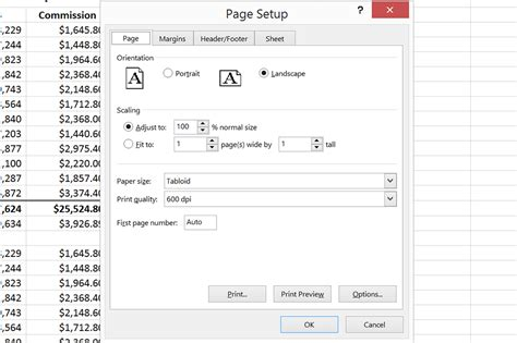 worksheets print on one page printing exporting
