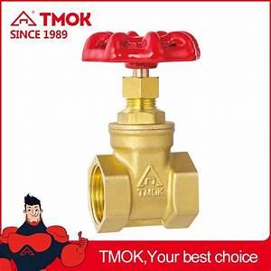 Tmok 102 Valve Manual Brass Gate Valve Inner Thread Equal