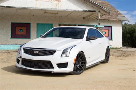Lowered Cadillac Ats by 2016 Renick Performance Cadillac Ats V Coupe Gm Authority