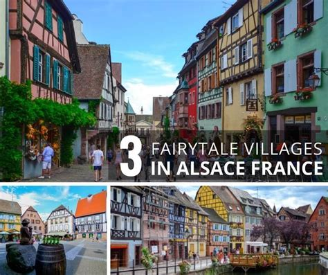 3 Fairytale Villages in Alsace, France