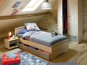 Chambre De Garcon Ikea : 5 belles chambres d enfant am nag es dans les combles ~ Premium-room.com Idées de Décoration