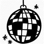 Disco Icon Dance Ballroom Ball Drawn Hand