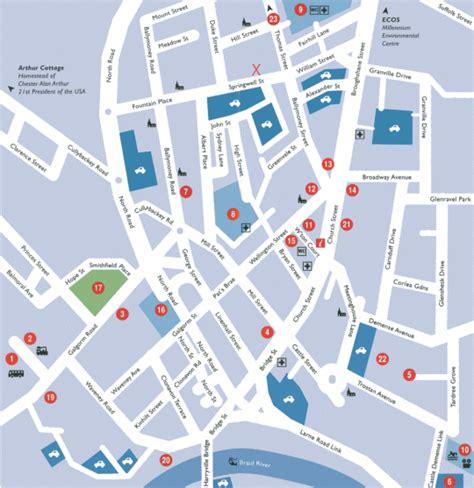 linton location map