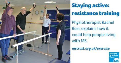 Staying active: resistance training and MS | MS Trust