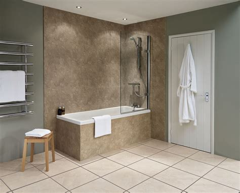 Badezimmer Wand by Nuance Classic Travertine Riven Wall Panels