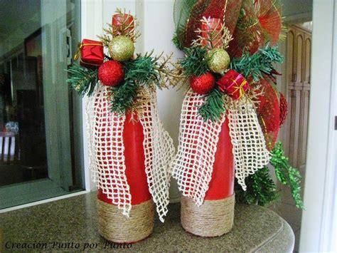 creaci 243 n punto por punto navidad navidad navidad navidad botellas y botella navide 241 a