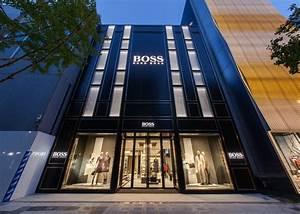 BOSS Store Osaka Shinsaibashi - Hollin Radoske Architects
