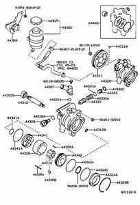 Toyota Corolla Power Steering Reservoir  Reservoir  Vane