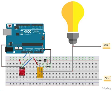 Controlling Home Lights With Touch Using Ttp