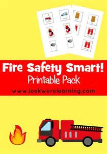 Printable Fire Safety Plan Kids