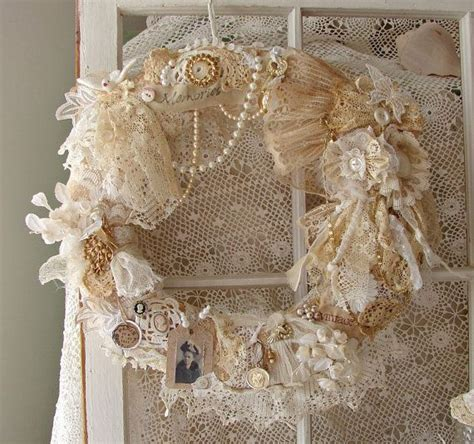 shabby chic wreath 22 versatile shabby chic christmas wreaths that can be used all year round homesthetics
