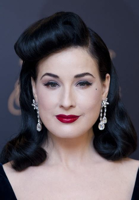 1950s Black Hairstyles by 1950 S Hairstyle Dita S Classic Black Retro Hairstyle