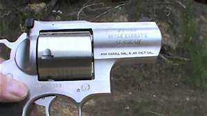 Ruger Super RedHawk Alaskan 454 - YouTube