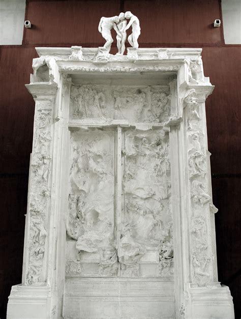 les 7 portes de l enfer la porte de l enfer auguste rodin